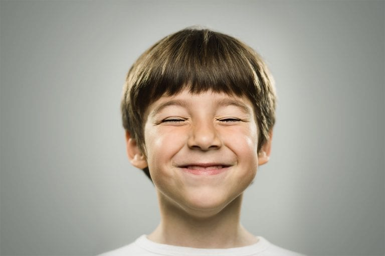 Mindfullness - happy child